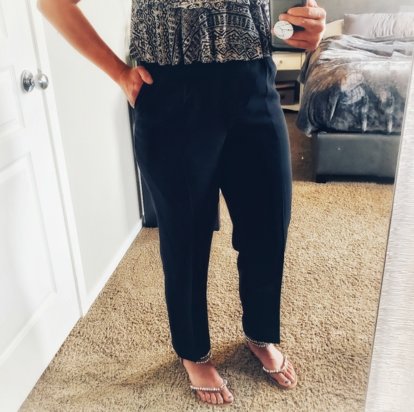 Holt Refrew High Waisted Classic Touser Pant